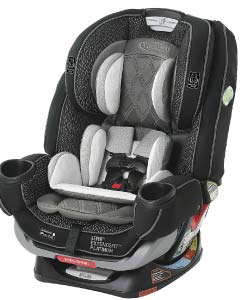 Graco-4Ever-Extend2Fit-Platinum-4-in-1-Car-Seat