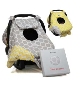 Sho-Cute-Carseat-Canopy-All-Season-Baby-Car-Seat-Cover-Boy-or-Girl